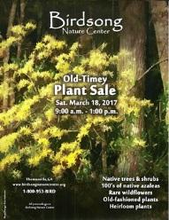Birdsong Nature Center Plant Sale